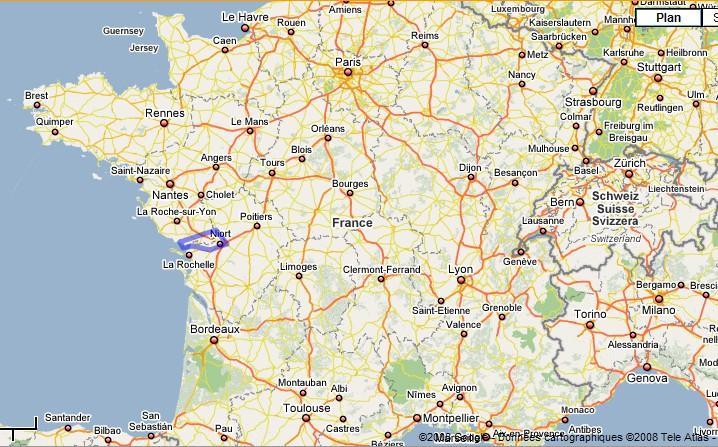 Carte De France Marais Poitevin | tonaartsenfotografie