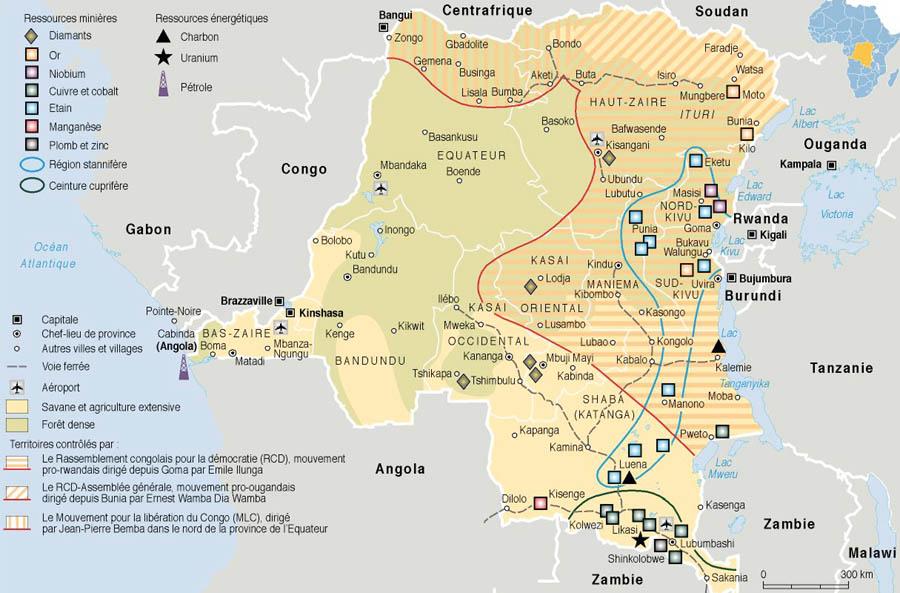 Congo Brazzaville Natural Resources
