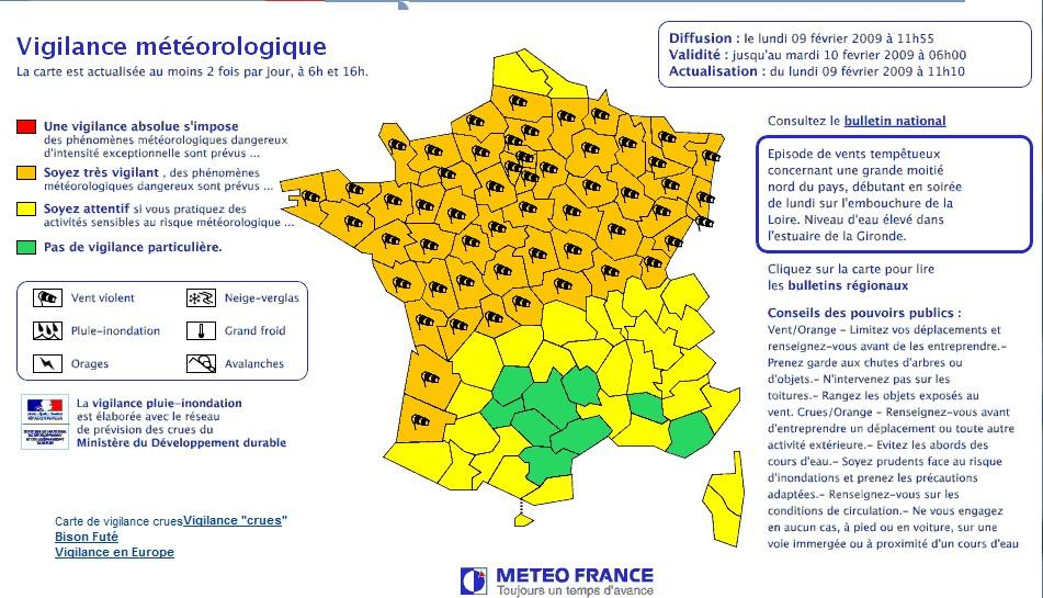 Alerte météo : Violente tempête sur la France - Planète Vivante