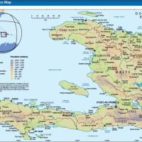Localisation des zones touchées par le séisme à Port-au-Prince (Haïti) 15 janvier 2010