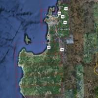 Nouvelle mise à jour de l'image satellite sur Google Earth et Google Maps