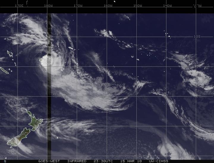 Cyclones sur le pacifique sud tomas et ului 15 mars for Fenetre sur pacifique