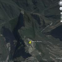 Google Earth : réplique en 3D des ruines de Machu Picchu (Pérou)