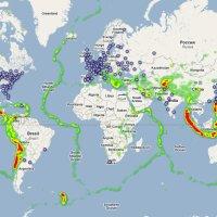 Séisme et tsunami au Japon : nouvelles cartes (actualisation 16 mars 2011)