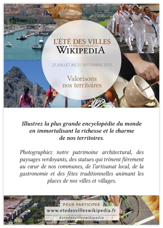 Eté des villes et des villages - Wikipedia 2015