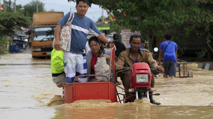 Inondations a Candaba, Luzon Central, Philippines - Photo Reuters - décembre 2015