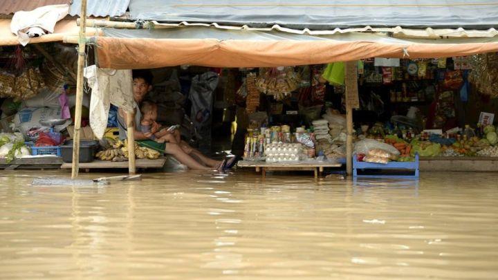Inondations - Melor et Onyok au Nord de Manille - Photo AFP