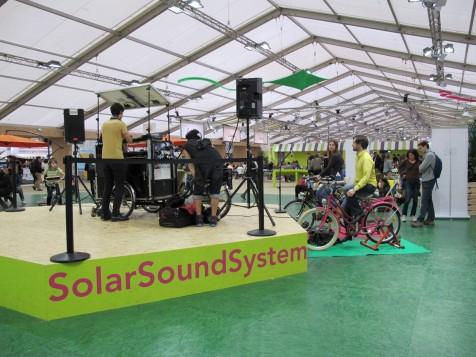 Solar Sound System - Espaces Générations Climat - COP21 - Photo Marie-Sophie BOCK-Digne/Planète Vivante - 5 décembre 2015
