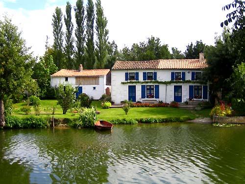 Coulon - Parc Régional du Marais Poitevin  - Habitat