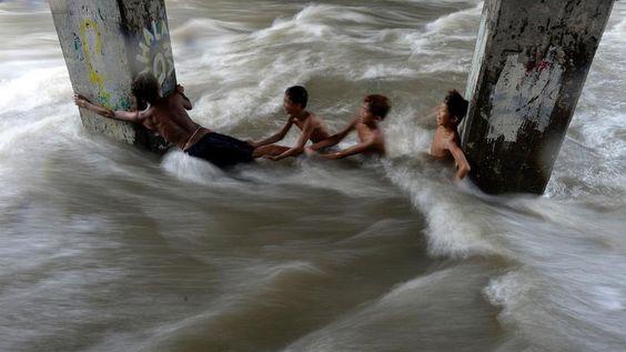 Inondations Philippines - Typhon Melor 2015