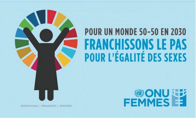 Journée internationale des femmes - ONU - 2016