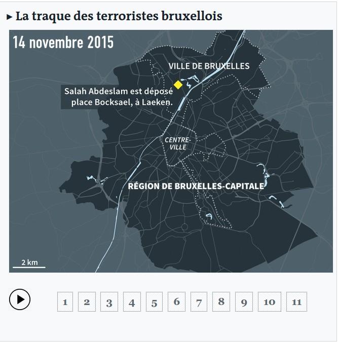 Traque terroristes_Bruxelles
