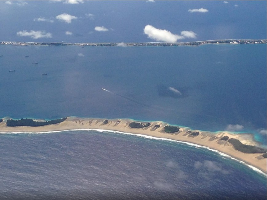 Atoll dans les Îles Marshall