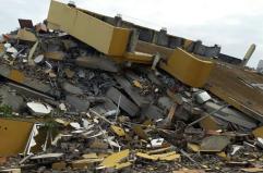 Hotel Royal après le séisme du 16 avril 2016