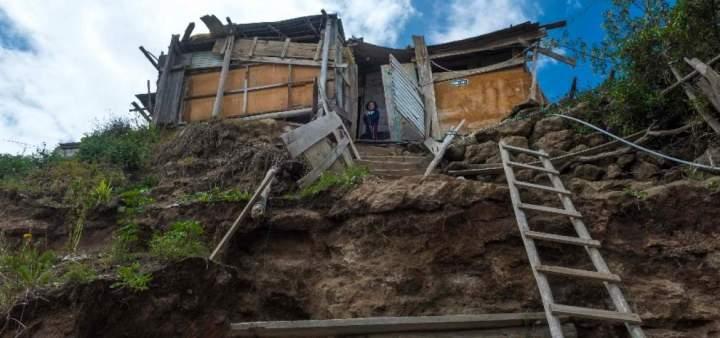 Las casas en zonas periféricas de Quito no tienen prácticamente ningún control de construcción. Foto: Archivo/ El Telégrafo