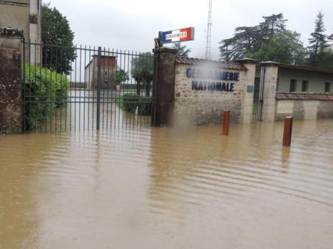 Inondations à Marchenoir - Loir-et-Cher 31 mai 2016
