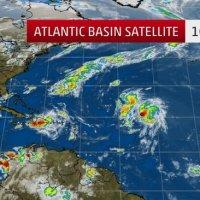 25 août 2016 : situation cyclonique sur Atlantique et Caraïbe (suivi)