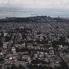 Vue sur San Francisco - 01/1989 - Photo Marie-Sophie Bock Digne (Planète Vivante)