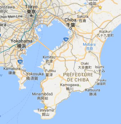 Péninsule de Boso, Préfecture de Chiba - Google Maps