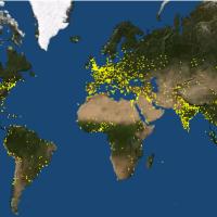 La vidéo du jour : Visualiser l'évolution de la répartition des établissements humains et urbains
