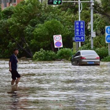 Ville de Xiamen, dans la province chinoise du Fujian, 15 septembre 2016. (Photo : Wei Peiquan)
