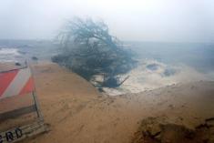 Marée de tempête à Alligator Point, près d'Apalachicola - 01/09/2016 - Source : http://www.nwfdailynews.com/