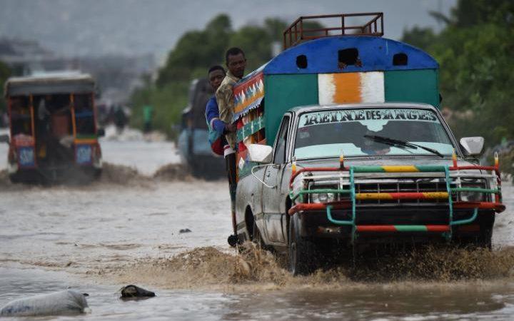 Ouragan Matthew - Port au-Prince - 05/10/2016 - AFP