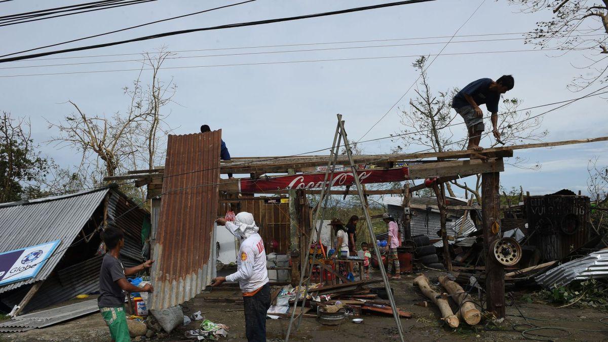 Typhon Haima : impacts aux Philippines
