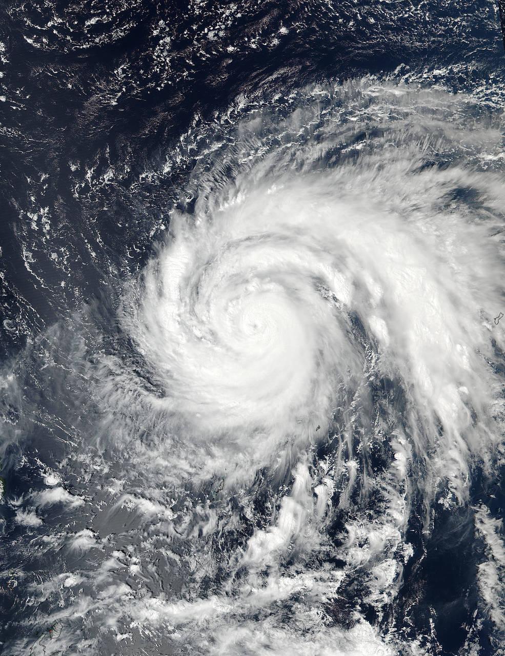 Typhon Haima - NASA - Hazards