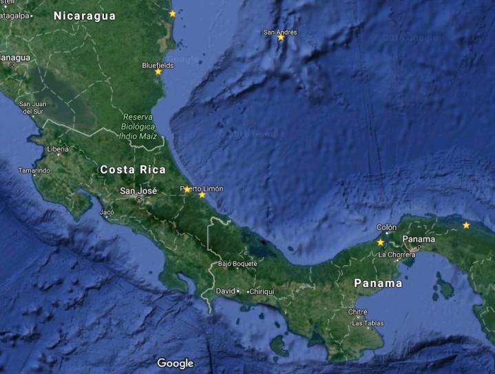 Copie d'écran Google Maps