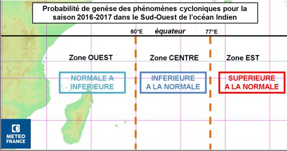 Source : Communiqué de Presse de Météo FRance - Ile de la Réunion