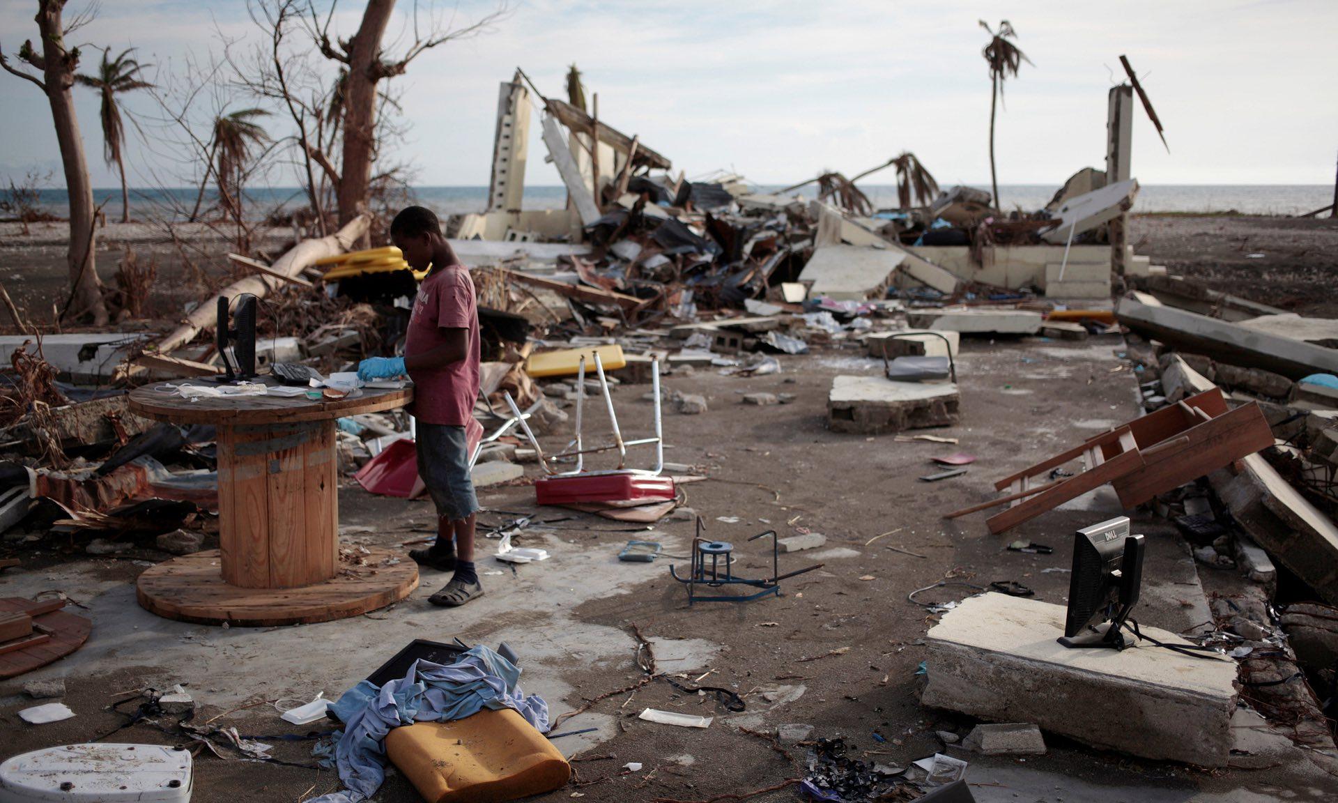 Haiti. Photograph: Andres Martinez Casares/Reuters