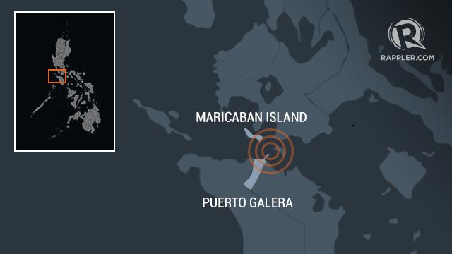 Localisation des naufrages - Source Rappler.com