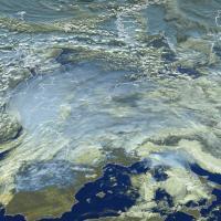 Egon : forte tempête hivernale 2016 en France